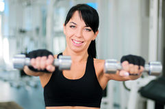 Gym Woman Stock Images
