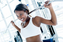 Gym woman Stock Photos