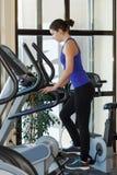 Gym woman workout Stock Photo
