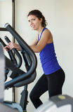 Gym woman workout Royalty Free Stock Images
