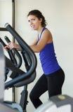 Gym woman workout Stock Image