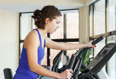 Gym woman workout Stock Photography