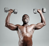 Gym workout Royalty Free Stock Photography