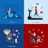 Gym Workout People Royalty Free Stock Image
