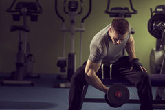 Gym workout Royalty Free Stock Images