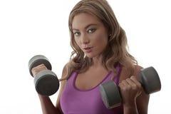 Gym workouts Stock Photos