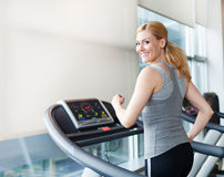 At the gym Stock Photography