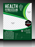 Gyme flyer template Royalty Free Stock Photos