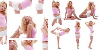 gymgirl Στοκ Φωτογραφίες