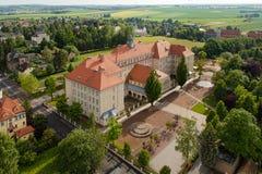 Gymnase dans Burgstädt Photos stock