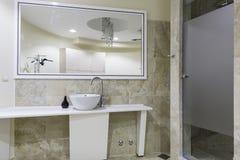 Gymnase et toilette de bien-être Image libre de droits