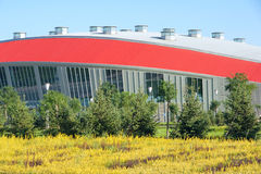 Gymnasium. The gymnasium of Shanxi Sports Center royalty free stock images