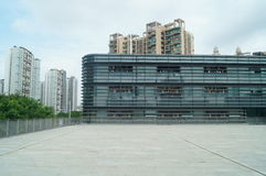 Gymnasium Building, in Shenzhen, China Royalty Free Stock Image