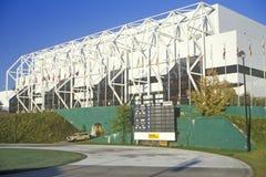 Gymnasium at Lake Placid, NY, home of the 1980 Olympics Stock Photo