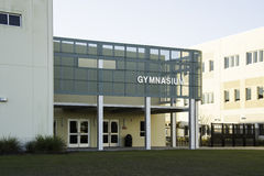 Gymnasium at Middle School in Florida Stock Photos