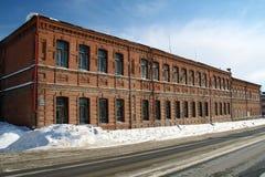 Gymnasium in Kamyshlov Stock Photography