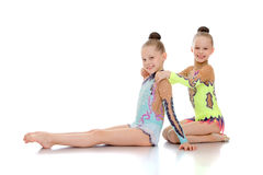 Gymnast αδελφών Στοκ εικόνα με δικαίωμα ελεύθερης χρήσης