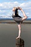 gymnast κοριτσιών Στοκ Φωτογραφία