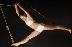 gymnast νεολαίες γυναικών Στοκ φωτογραφία με δικαίωμα ελεύθερης χρήσης