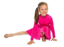 Gymnast παιδιών Στοκ εικόνα με δικαίωμα ελεύθερης χρήσης