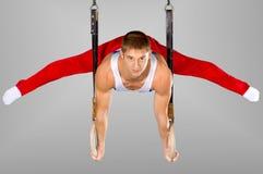 Gymnast foto de stock royalty free
