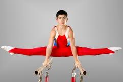 Gymnast fotografie stock
