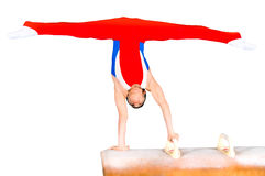 Gymnast Fotografia de Stock Royalty Free