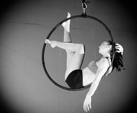 Gymnast Royaltyfri Bild