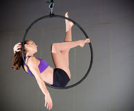 Gymnast Στοκ εικόνα με δικαίωμα ελεύθερης χρήσης