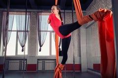 gymnast lizenzfreies stockfoto