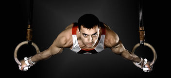 gymnast immagine stock