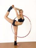 Gymnast da menina Foto de Stock