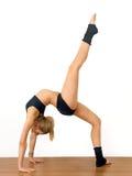 Gymnast da menina Fotografia de Stock Royalty Free