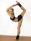 Gymnast da menina Fotos de Stock