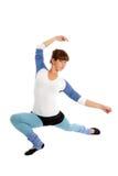 Gymnast da mulher nova Imagem de Stock Royalty Free
