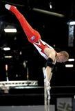 Gymnast Fabian Hambüchen. Stock Photos