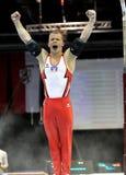 Gymnast Fabian Hambüchen. Stock Images