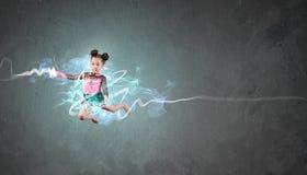 Gymnast girl Stock Photography