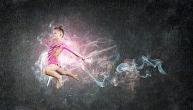 Gymnast girl Stock Images