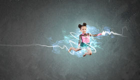 Gymnast girl Stock Photos