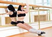 Gymnast girl posing Stock Photography