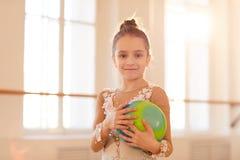Gymnast novo foto de stock royalty free