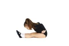 Gymnast pequeno Fotografia de Stock