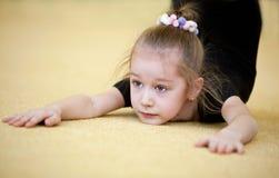 gymnastbarn Arkivfoto