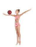 gymnastbarn Arkivfoton