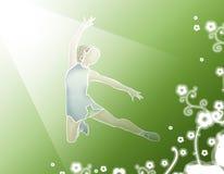 Gymnaste Image libre de droits