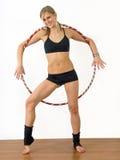 Gymnaste de fille Photo libre de droits