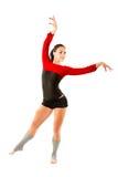 Gymnaste russe dans le maillot de bain de sports images libres de droits