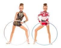 gymnastes photo libre de droits