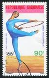 gymnastic imagem de stock royalty free